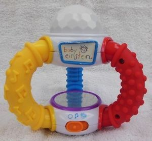Baby Einstein Kaleidoscope Music Lights Toy Colors in Spanish French English