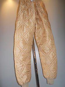 Vintage Thermal Long Underwear Pants Winter Hunting Fishing Sportsman Work Men