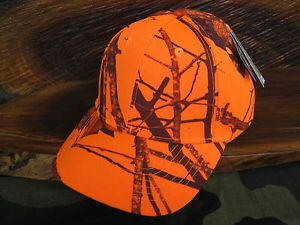 Camouflage Blaze Orange Camo Hunting Cap Fishing Hat Headwear Kati New Licensed