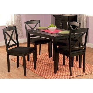 Dining Room Table Chairs Set Wood Dinette Furniture Kitchen Nook Bistro Family