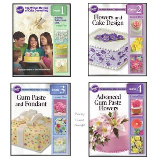 Wilton Student Cake Decorating Book and Kit Lesson Plan