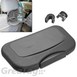 Auto Car Back Seat Beverage Desk Drink Cup Holder Stand Travel Tray Food Bottle