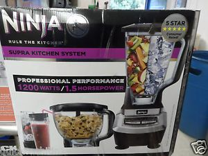 Ninja BL780 Supra Kitchen System 1200 Food Processor Knead Blender Pro New