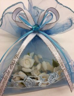 12 Rosary Quinceanera Sweet 15 Sweet 16 Quince Boda Recuerdos Favors Souvenirs