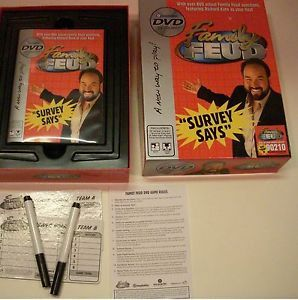 Family Feud DVD Game