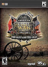 Ageod's American Civil War The Blue and The Gray PC 2008