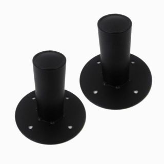Two Metal Tripod Speaker Stand Pole Mounts Top Hats PA