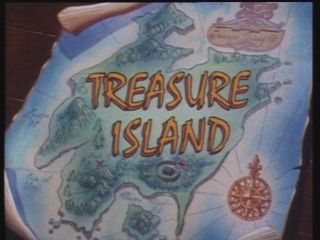 Treasure Island DVD 1987 Animation Classics RARE Collectible UK Promo R2