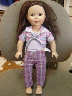 "Madame Alexander Doll Company 50976 19"" Tall Brown Hair Eyes"
