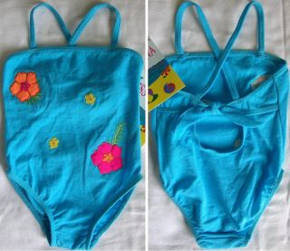 Baby Girl Toddler 1pc Swimwear Swim Suit Bathing Suit Clothes 12 18 24 MN 2T 4T