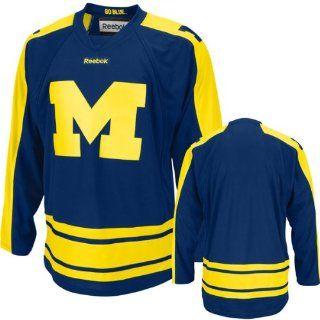 Michigan Wolverines Adidas Edge Hockey Jersey