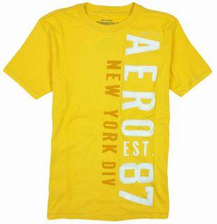 Aeropostale Mens Aero Est 87 New York Div T Shirt