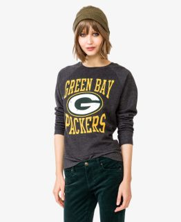 Green Bay Packers Logo Pullover  FOREVER21   2023503827