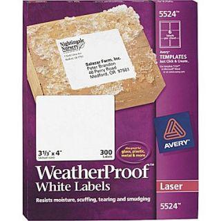 avery 48460 ecofriendly white inkjet laser address labels 1 x 2 5