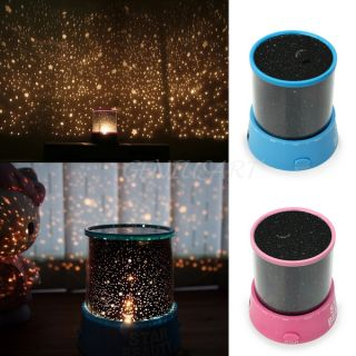 Beautiful Romantic Star Sky Starry Night Cosmos Projector Shiny Light Lamp Gift
