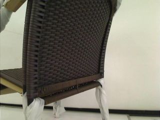 Hampton Bay Wicker Patio Stack Chair 2 Pack $119 00