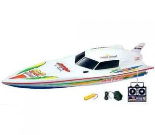 "RC Remote Control 29"" Full Function Aerodynamic Dual Motors EP Racing Speed Boat"