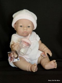 """New in Box Berenguer 14"""" Little Lily Real Girl 18707 Made in Spain"""