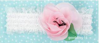 New Children Kids Newborn Baby Girls Lace Flower Headband Headwear Hair Band Hot