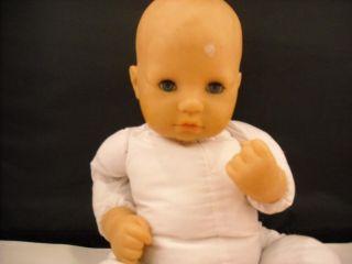 Zapf Doll Baby w Open Close Eyes Pillow Bottle