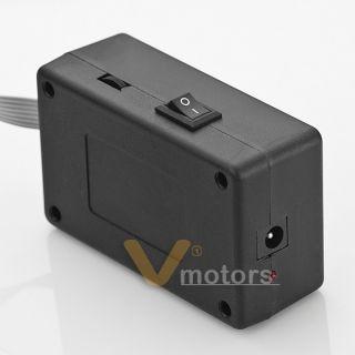 Car Sticker Sound Music Activated Sensor Flashing Blue LED Light Equalizer Glow
