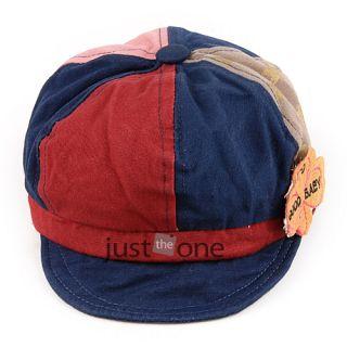 Cute Baby Toddler Infants Boys Girls Newsboy Mixed Color Baseball Cap Beanie Hat