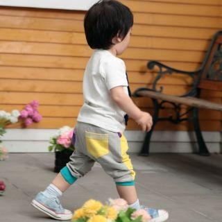 Baby Kids Boy Girl Cute Giraffe Animal Print Top Pants Outfit Set Cloth 12M 4T