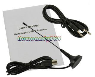 Digital TV Box LCD VGA AV Tuner DVB T Free View Receiver NC89 Converter EU Plug