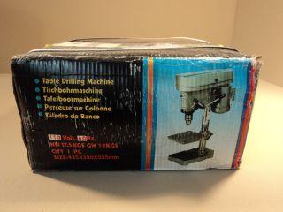 Standard Bench Table Drill Press Machiine Green Gray 13mm 5 Speed 110V 60Hz