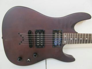 As Is Dean Vendetta XM Solid Body Electric Guitar Mahogany Finish 819998010447