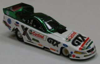 New in Box John Force Castrol GTX Racing Funny Cars 4 Car Set 1 64 Die Castrol