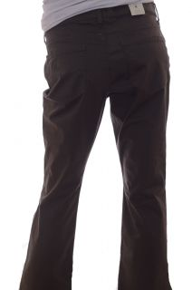 Womens Old Navy Brown Pants Low Rise Boot Cut Stretch Cotton Spandex Size 8 New