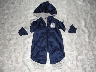 Baby Boys Starter UCONN Huskies 1 PC Windbreaker Outfit Sz 0 3 Mos