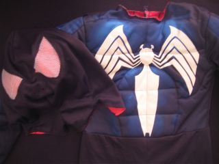 Spiderman Costume 2 in 1 Venom Spiderman Costume Size 5 6 Kids
