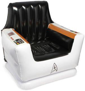 Star Trek Original Series Enterprise Captain Kirk Chair Inflatable Prop Replica