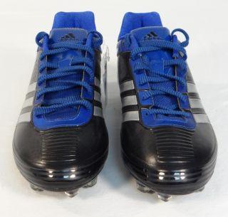 Adidas Response Speed Black Blue Soccer Football Cleats Mens