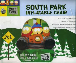 South Park Inflatable Chair Cartman Kenny