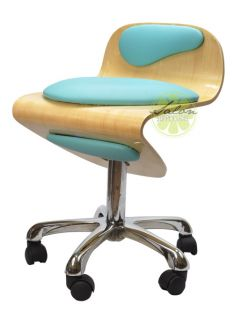 Unique Design Harmony Salon Rolling Stool Retro Hydraulic Chair Spa Manicure