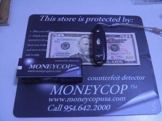 Moneycop Counterfeit Bill Detector Credit Cards Money Cop