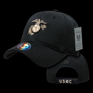 Military Baseball Cap Ball Hat Legend Collection USMC Marines Eagle Globe Anchor