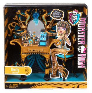 NIB Monster High Cleo de Nile's Vanity Accessory Playset