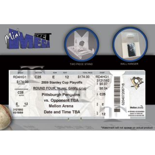 Thats My Ticket NHL 2009 Stanley Cup Mini Mega Ticket   Pittsburgh