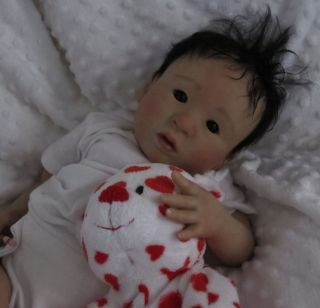♥ Doves Nursery ♥ Reborn Real Life Ethnic Asian Baby ♥ Rebecca B Mann Sculpt