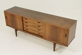 Danish Sideboard Credenza : Stunning rosewood danish modern sideboard credenza