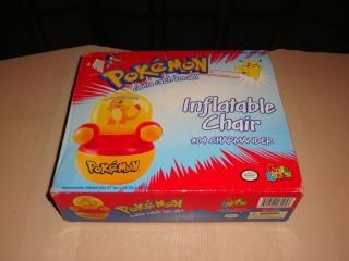 New Pokemon Charmander Inflatable Chair Nintendo Kidz Kraze Blow Up