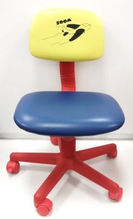 Kids Computer Desk Chair Colorful Air Plane