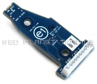Dell XPS 730 Control Board Switch w Power Button FN037