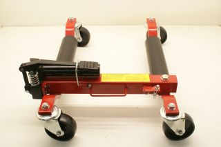 New Pair Hydraulic Wheel Dollies Tow Truck Repo Dolly