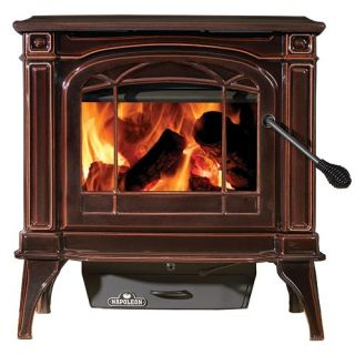 Napoleon 1100CN 1 Cast Iron EPA Wood Burning Stove Porcelain Brown