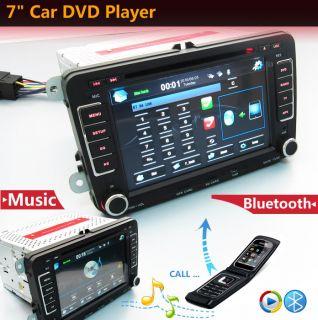 "7"" 2 DIN Car GPS Nav DVD Player Radio iPod TV for VW Golf Jetta Touran Tiguan"